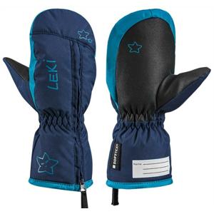 Dětské lyžařské rukavice Leki Little Snow Mitt Velikost rukavic: 3 / Barva: modrá