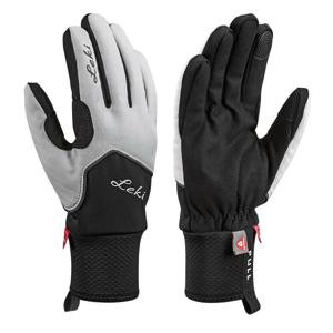 Rukavice Leki Nordic Thermo Lady Velikost rukavic: 6,5 / Barva: bílá/černá