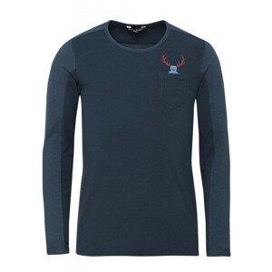 Pánské triko Chillaz Alaro Hirschkrah Velikost: S / Barva: modrá