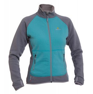 Dámská bunda Warmpeace Mandy Lady Velikost: M / Barva: šedá/modrá