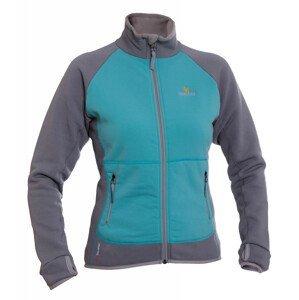 Dámská bunda Warmpeace Mandy Lady Velikost: L / Barva: šedá/modrá
