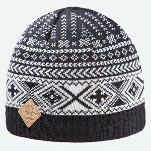 Pletená Merino čepice Kama A117 Barva: černá