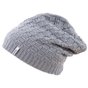 Pletená Merino čepice Kama A123 Barva: šedá