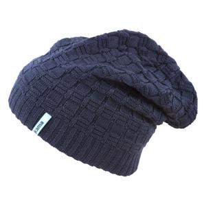 Pletená Merino čepice Kama A123 Barva: tmavě modrá