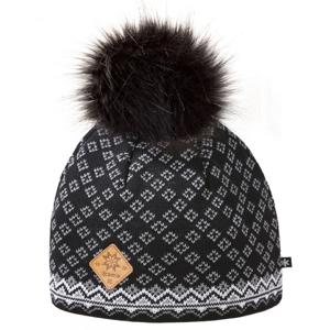 Pletená Merino čepice Kama A147 Barva: černá