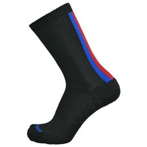 Cyklistické ponožky Apasox Tortolas Velikost ponožek: 39-42 / Barva: černá