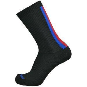 Cyklistické ponožky Apasox Tortolas Velikost ponožek: 43-47 / Barva: černá