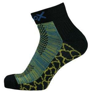 Ponožky Apasox Mytikas Velikost ponožek: 35-38 / Barva: žlutá