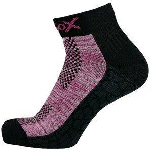 Ponožky Apasox Mytikas Velikost ponožek: 35-38 / Barva: růžová