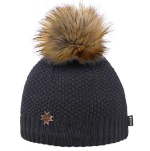 Pletená Merino čepice Kama A155 Barva: černá