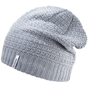 Dětská pletená Merino čepice Kama B77 Barva: šedá