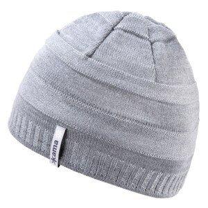 Dětská pletená Merino čepice Kama B78 Barva: šedá