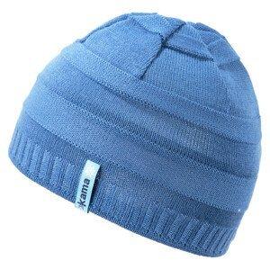 Dětská pletená Merino čepice Kama B78 Barva: světle modrá