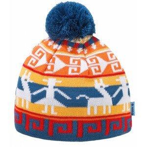 Dětská pletená Merino čepice Kama B81 Barva: světle modrá