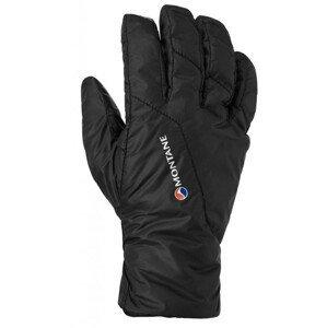 Pánské rukavice Montane Prism Glove Velikost rukavic: S / Barva: černá