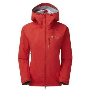 Dámská bunda Montane Womens Alpine Spirit Jacket Velikost: XS / Barva: červená