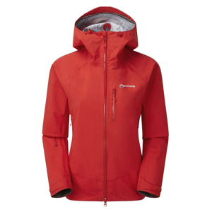 Dámská bunda Montane Womens Alpine Spirit Jacket Velikost: S / Barva: červená