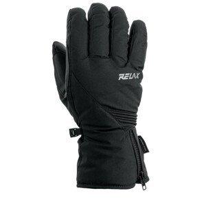 Lyžařské rukavice Relax Thunder Velikost rukavic: XL / Barva: černá