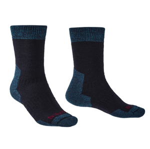 Pánské ponožky Bridgedale Explorer HW MC Boot Velikost ponožek: 40-43 / Barva: modrá