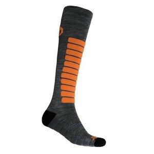 Podkolenky Sensor Zero Merino Velikost ponožek: 43-46 / Barva: šedá/fialová