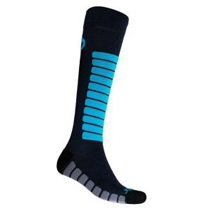 Podkolenky Sensor Zero Merino Velikost ponožek: 35-38 / Barva: šedá/modrá