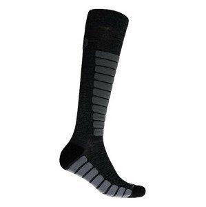 Podkolenky Sensor Zero Merino Velikost ponožek: 35-38 / Barva: šedá