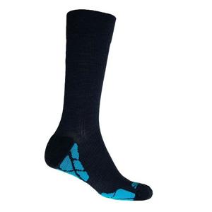 Ponožky Sensor Hiking Merino Velikost ponožek: 42-46 / Barva: černá/modrá