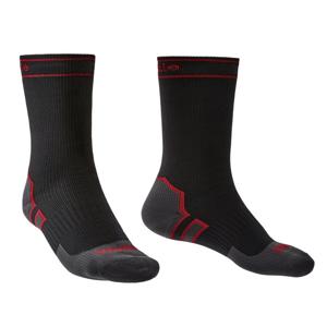 Ponožky Bridgedale Storm Sock HW Boot Velikost ponožek: 44-47 / Barva: černá