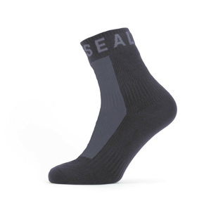 Nepromokavé ponožky SealSkinz WF All Weather Ankle Length Velikost ponožek: 39-42 / Barva: černá