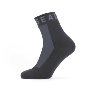 Nepromokavé ponožky SealSkinz WF All Weather Ankle Length Velikost ponožek: 43-46 / Barva: černá