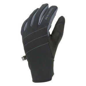 Rukavice SealSkinz WP All Weather with Fusion Control™ Velikost rukavic: XL / Barva: černá/šedá