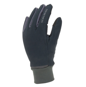 Rukavice SealSkinz WP All Weather Lightweight Fusion Control™ Velikost rukavic: XL / Barva: černá/šedá