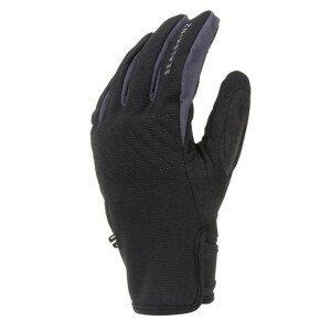 Rukavice SealSkinz WP All Weather Multi-Activity Velikost rukavic: L / Barva: černá/šedá