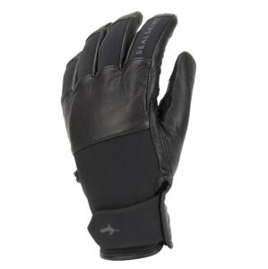 Rukavice SealSkinz WP Cold Weather with Fusion Control™ Velikost rukavic: M / Barva: černá