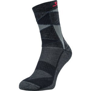 Ponožky Silvini VALLONGA UA1745 Velikost ponožek: 39-41 / Barva: černá