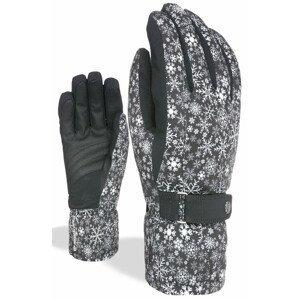 Dámské rukavice Level Hero W Velikost rukavic: 7,5 / Barva: černá/bílá
