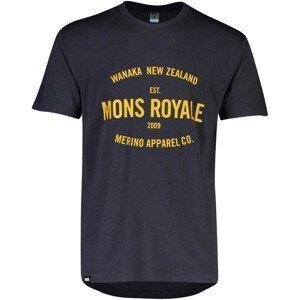 Pánské triko Mons Royale Icon T-Shirt Velikost: L / Barva: šedá