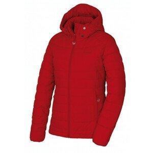 Dámská péřová bunda Husky Donnie L Velikost: M / Barva: cihlová