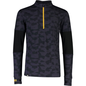 Pánské funkční triko Mons Royale Alta Tech Half Zip Velikost: M / Barva: černá