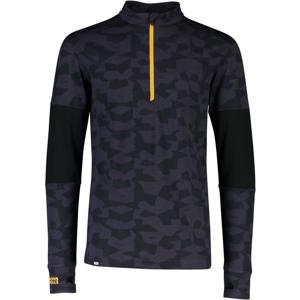 Pánské funkční triko Mons Royale Alta Tech Half Zip Velikost: XL / Barva: černá