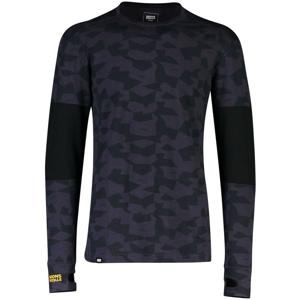 Pánské funkční triko Mons Royale Alta Tech LS Crew Velikost: M / Barva: černá