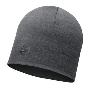 Čepice Buff Heavyweight Merino Wool Hat Barva: šedá