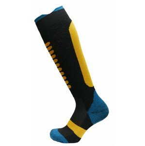 Dětské podkolenky Apasox Lappi P Velikost ponožek: 35-38 / Barva: modrá