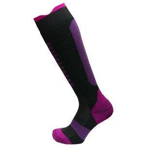 Dětské podkolenky Apasox Lappi P Velikost ponožek: 30-34 / Barva: fialová