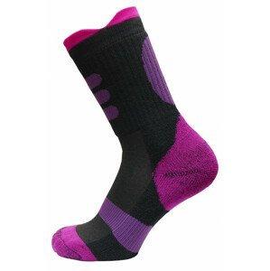 Dětské ponožky Apasox Lappi Velikost ponožek: 35-38 / Barva: fialová