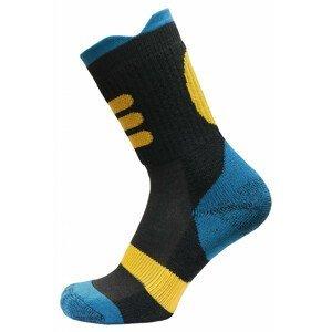 Dětské ponožky Apasox Lappi Velikost ponožek: 30-34 / Barva: modrá