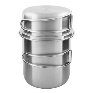 Hrnek Tatonka Handle Mug 600 Set Barva: stříbrná