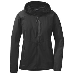 Outdoor Research Dámská bunda Outdoors Research Ferrosi Hooded Jacket Velikost: L / Barva: černá