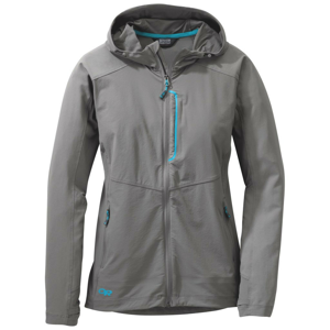 Outdoor Research Dámská bunda Outdoors Research Ferrosi Hooded Jacket Velikost: S / Barva: šedá