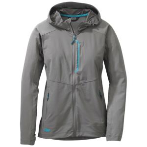 Outdoor Research Dámská bunda Outdoors Research Ferrosi Hooded Jacket Velikost: M / Barva: šedá